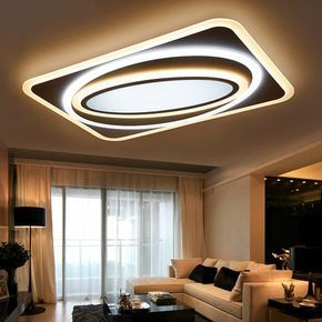 Check Discount Modern 2 4g Colorful Remote Control Ceiling Light
