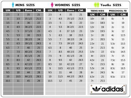 Adidas Women S Clothing Size Chart Us Di 2020 Nike Sepatu Nike Sepatu