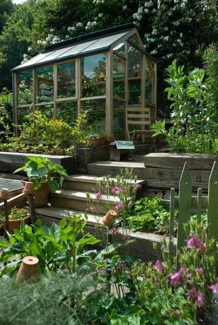 A Guide To A Greenhouse Room In Your House Sloped Garden Garden