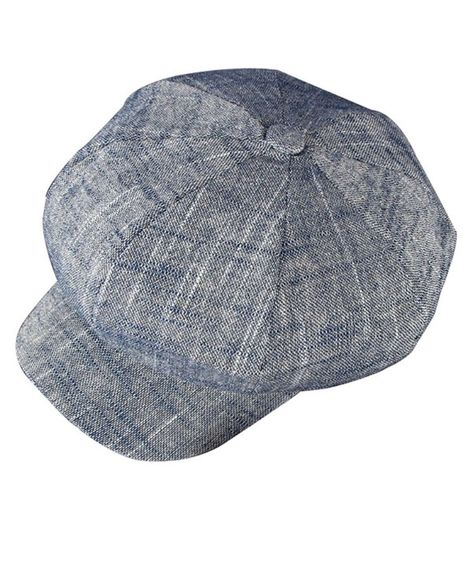 85dd643ad568e Women's Gatsby Newsboy Hat Cotton Linen Blend Painter Caps Blue CM12O3WYJY3