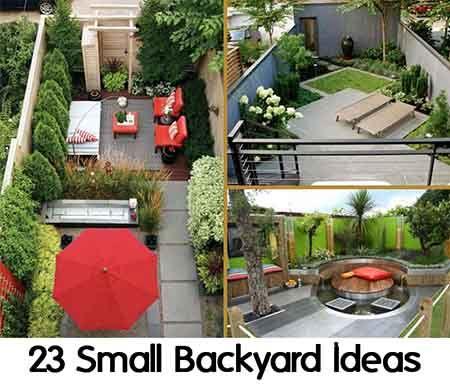 23 Small Backyard Ideas