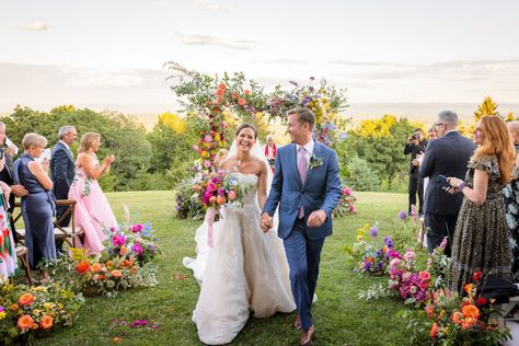 Check out the #weddingceremony details of Ellie Monahan and Mark Dobrosky.