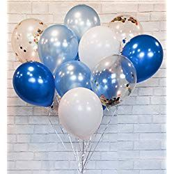 Fortnite Theme Birthday Party Foil and Latex Balloons Air or Helium