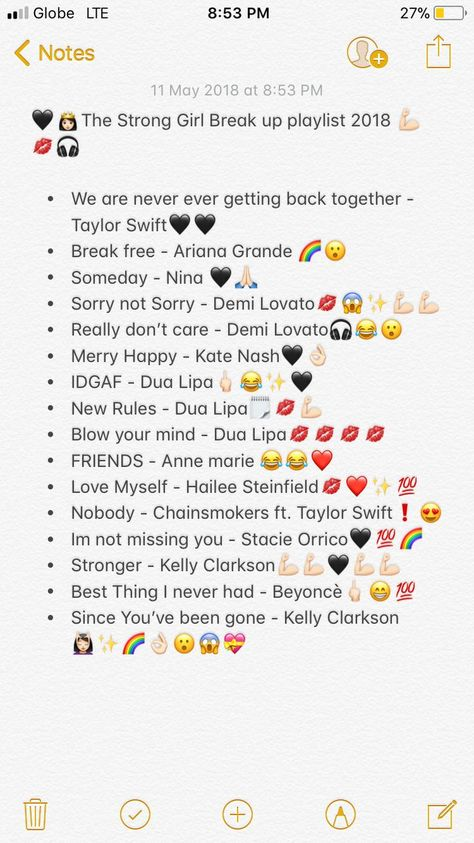Break Up Playlist 2018 💪🏻 -  - #break #Playlist