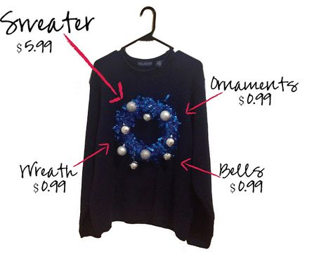 my thrifty chic: DIY Ugly Christmas Sweaters