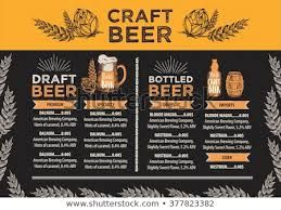 Alcohol Menu Google Search Draft Bottle Alcohol Craft Beer
