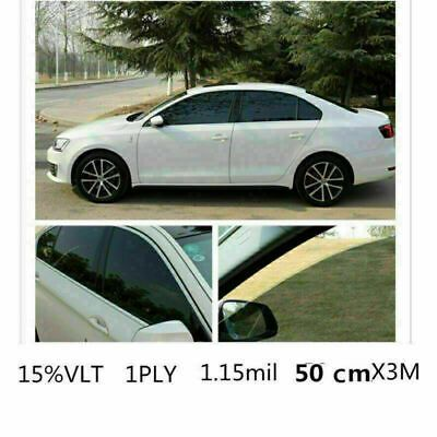 15 Window Tint On White Car