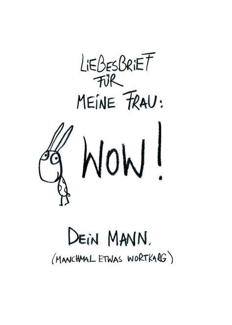 Postkarte Von Mann zu Frau Text und Design: Harriet Grundmann, eDITION GUTE GEISTER