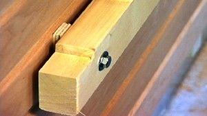 Tragerbalken Fur Saunabank Mit Abstandhalter Zwecks Hinterluftung