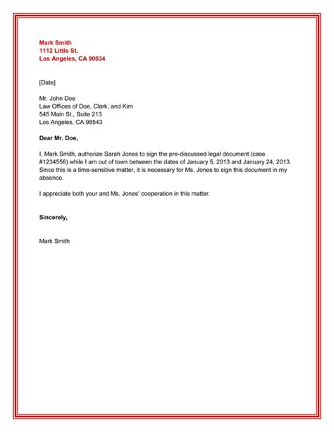 Authorization Letter For Bank Authorization Letter Pinterest