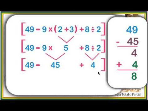 17 Ideas De Ejercicios Combinados Ejercicios Matematicas Matematica Ejercicios