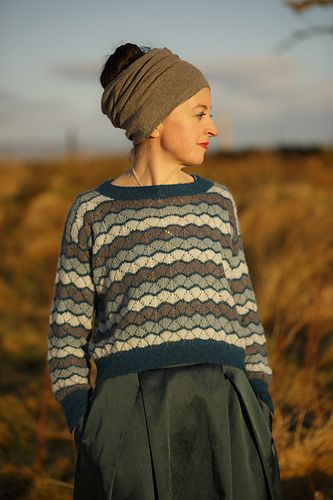 41cca252 Myrtle pattern by Kate Davies Designs | pullover | Pattern library ...
