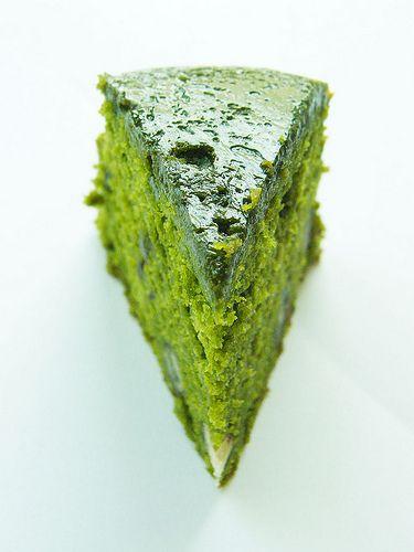Gâteau japonais au thé vert                                                                                                                                                     Plus