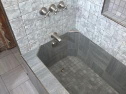 ROMAN STYLE SHOWER, TUB U0026 TILE INSTALL | Interiors   Bathrooms | Pinterest  | Tub Tile, Shower Tub And Tubs
