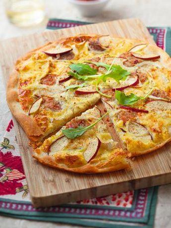 Pizza Normande Recette Recettes De Cuisine Recette Pizza Recette Normande