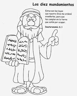 Imagenes Cristianas Para Colorear Dibujos Para Colorear De Los Diez Mandamientos 10 Mandamientos Para Ninos Lecciones De La Biblia Biblia Para Ninos