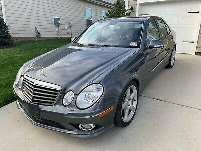 Ebay Advertisement 2009 Mercedes Benz E Class E 350 4matic 2009