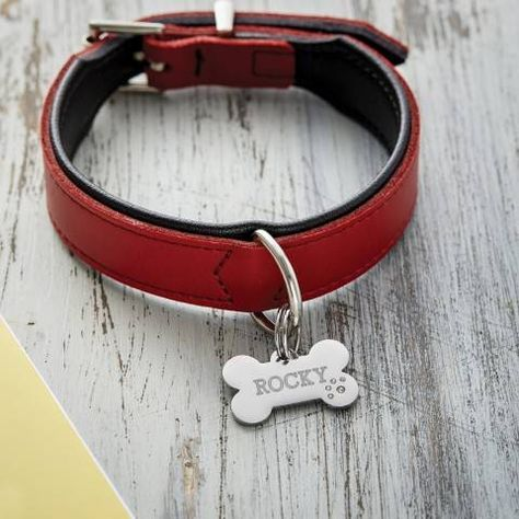 Dog Tag Kette mit Gravur Sternzeichen Name
