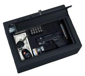 Handgun Steel Safe Chest Digital Security Box Electronic Lock Vault Gun Pistol