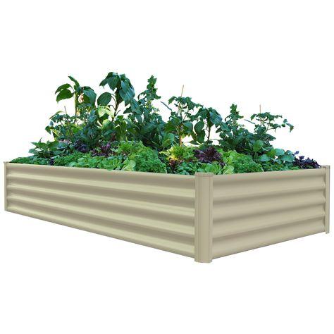 The Organic Garden Co 200 X 100 X 41cm Merino Rectangular Raised Garden Bed Garden Beds Raised Garden Beds Raised Garden