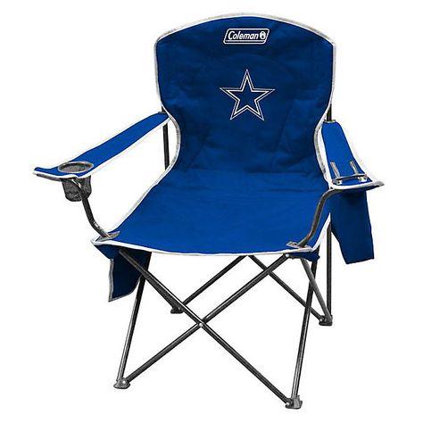 Fantastic Dallas Cowboys Cooler Quad Chair Camping Chairs Tailgate Lamtechconsult Wood Chair Design Ideas Lamtechconsultcom