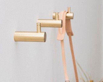 Brass Hooks Etsy Nz Brass Wall Hook Decorative Wall Hooks Wall Hooks