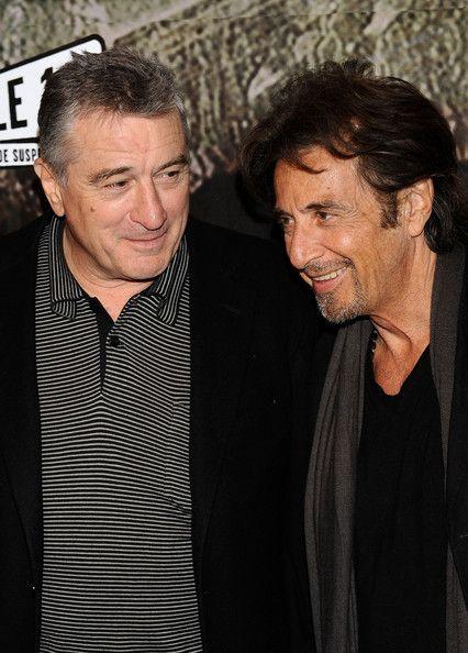 Robert De Niro And Al Pacino Photos Photos Righteous Kill