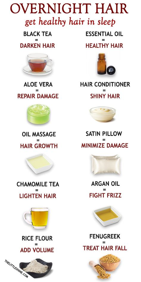10 BEST OVERNIGHT HAIR CARE TIPS TO GET HEALTHY HAIR IN SLEEP - The Little Shine