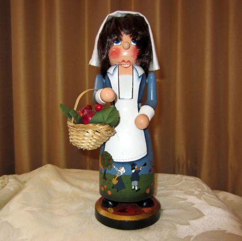 Pilgrim Priscilla painted by Wanda Wightman
