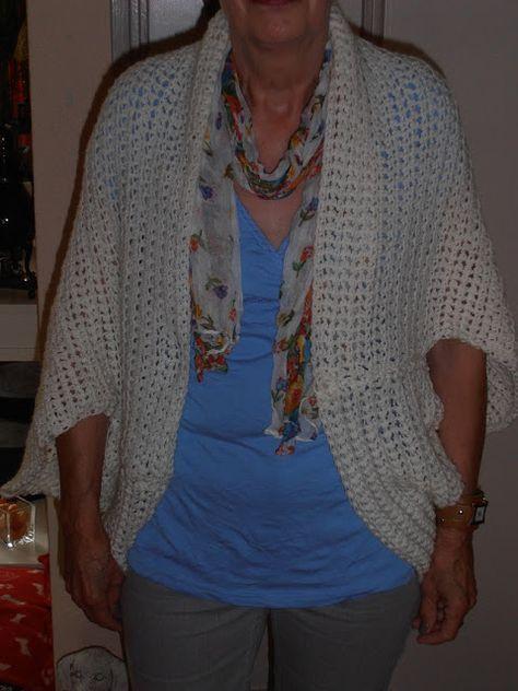Haak Maar Aan Vest In Een Avond Maken Gratis Haakpatronen