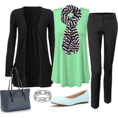 Plus Size Outfit, Fall Career Fashion by jmc6115 on Polyvore featuring LE3NO and Napier