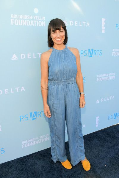 Constance Zimmer attends P.S. ARTS Express Yourself 2018 at Barker Hangar.
