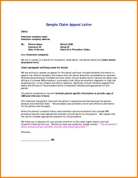 appeal letter exampledical letters sample free school medical - appeal letter template