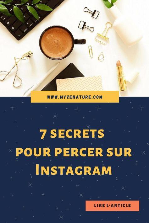 7 secrets pour percer sur instagram
