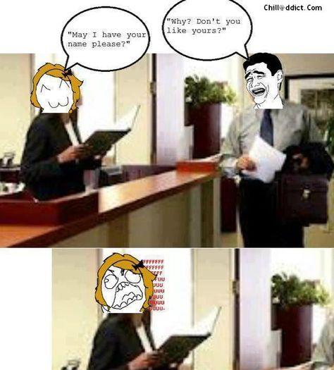 forcibly laughing at bad jokes = reason # 956 why I don't miss hospitality