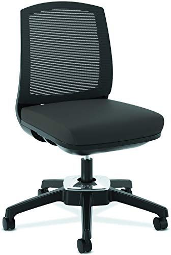 The Hon Active Task Chair Armless Computer Chair Office Desk Black Mesh Hvl951 Online Shopping In 2020 Plastic Folding Chairs Martin Furniture Chair