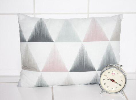 Wohndekoration Kissen Dreiecke Skandinavisches Muster Dekokissen