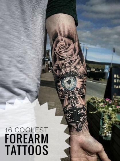 16 Coolest Forearm Tattoos For Men Tatu