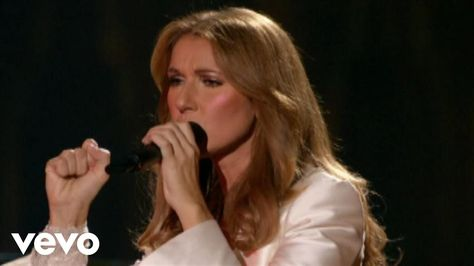 Music Video By Celine Dion Performing Because You Loved Me C 2007 Sony Music Entertainment Canada Inc Celine Dion Chanson Amour Dion
