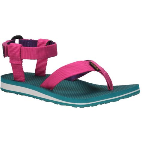 feb9397c288021 Teva Original Sandal in Berry  Deep Purple  39.95 at shoemill.com  water   sandals  colorful  comfy  summer  originals