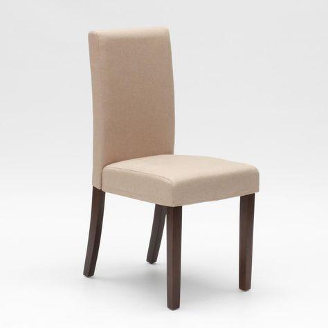 Sedia in legno imbottita stile henriksdal per cucina sala da ...