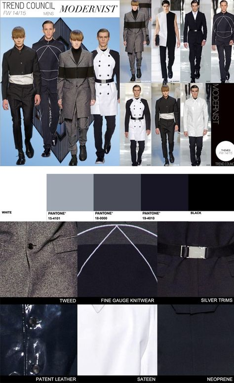 TREND COUNCIL F/W 2014 #COLOR - MODERNIST