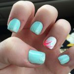 For summer, we need shorter acrylics and simple nails designs. Here are some pretty short acrylic square nails ideas. Let's get fresh and clean for summer!