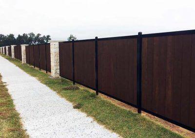 Fencetrac Privacy Fence Builder Arrow Fence Company Tulsa Oklahoma Fence Builders Fence Fence Construction