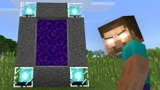 How To Get Into The Nether In Minecraft Pe