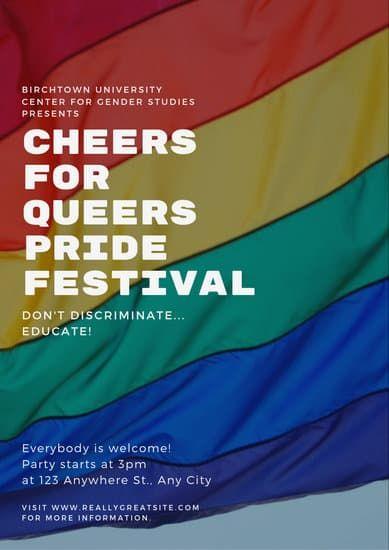 Colorful Photo Gender Equality Poster Gender Equality Poster Gender Equality Gender Studies
