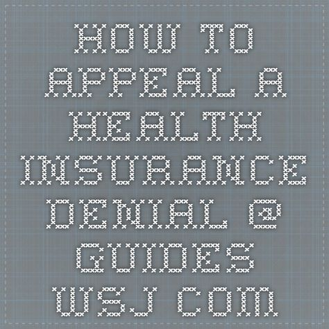 14 best Insurance claim denial images on Pinterest Denial - appeal letter format