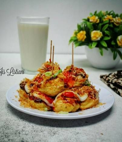 Resep Takoyaki Oleh Iis Listiani Resep Makanan Jepang Makanan Takoyaki