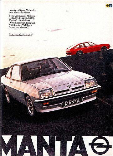 Opel Manta Gt E Magazine Ad Zeitschriftenanzeige Ams 1979 03 Opel Manta Opel Car Advertising