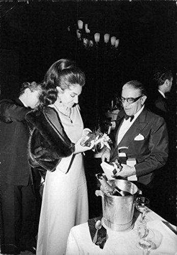 Evgenia Gl Reprint Of Maria Callas With Aristotle Onassis Amazon Co Uk Kitchen Home Maria Callas Los Kennedy Lo Divino